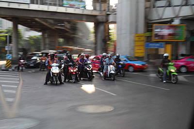 Bikes - Bangkok Thailand - 01132 Poster