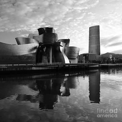 Poster featuring the photograph Bilbao 3 by Mariusz Czajkowski