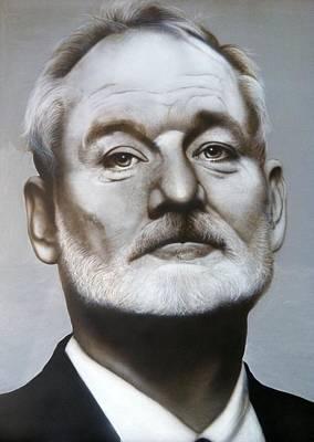 Bill Murray Poster by Grant Kosh
