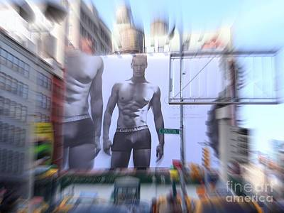 Billboard Bulge Poster by Ed Weidman