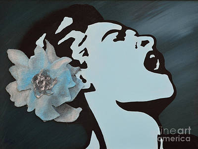 Billie Holiday Poster by Alys Caviness-Gober
