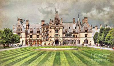 Biltmore House Poster by Savannah Gibbs