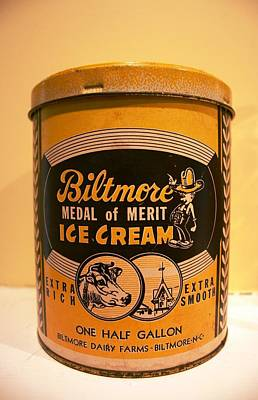 Biltmore Ice Cream Poster