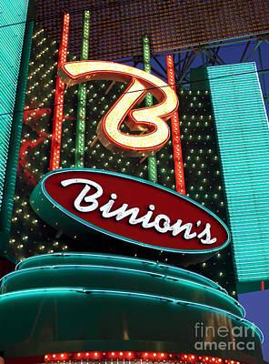 Binions Poster
