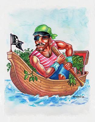 Bio-pirate Poster