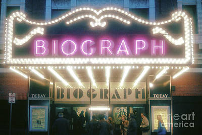 Biograph Movie Theater In Chicago Poster