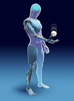 Bionic Limbs, Artwork Poster