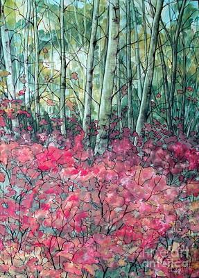 Birch Grove Poster by Joey Nash