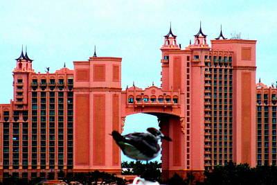 Bird And Atlantis Poster