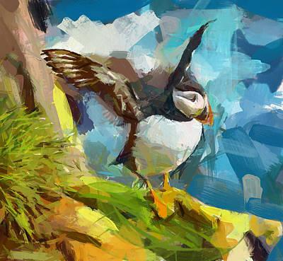 Bird Fly Poster