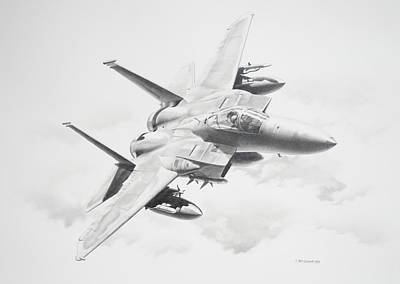 Bird Of Prey Poster by James Baldwin Aviation Art