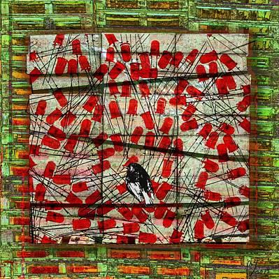 Bird On Wire Poster