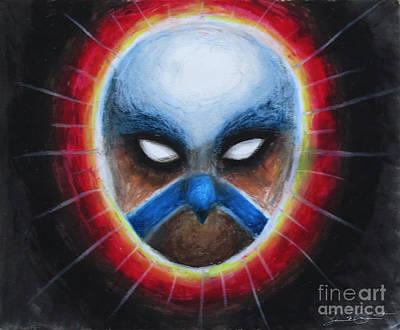 Bird Totem Mask Poster