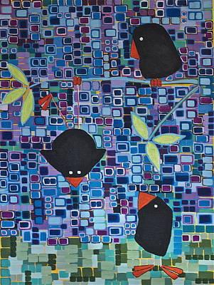 Bird Tricks Poster