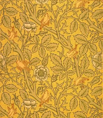 Bird Wallpaper Design Poster