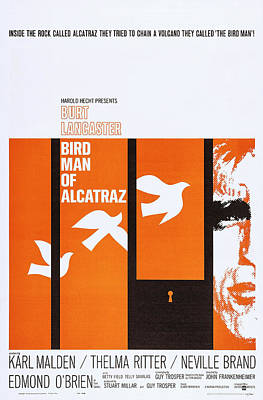 Birdman Of Alcatraz, Us Poster Art Poster by Everett