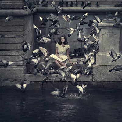 Birds Poster by Alexandra Nizenko