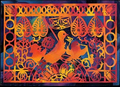 Birds Carnival Poster by Nekoda  Singer