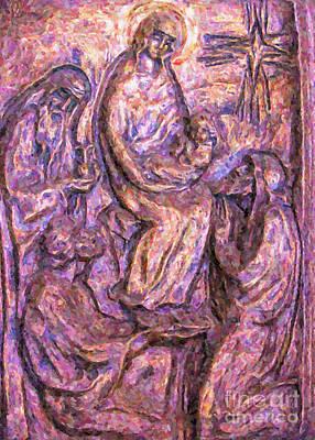 Birth Of Christ Poster by Antony McAulay