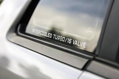 Birthday Car - Intercooled Turbo 16 Valve Poster