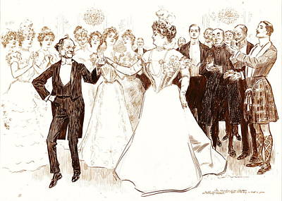 Birthday Dance 1899 Poster by Padre Art