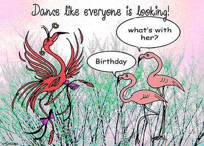 Birthday Dance Poster