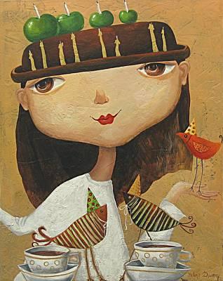 Birthday Girl Poster by Yelena Revis