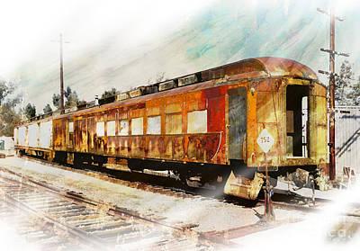 Bit Of Rust Poster by Robert Ball