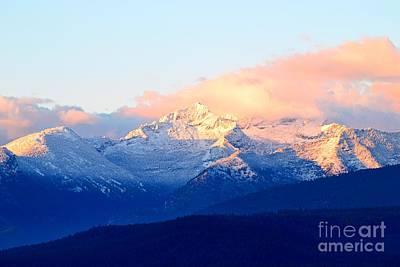 Bitterroot Mountains Montana Poster