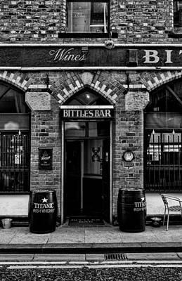 Bittles Bar Poster