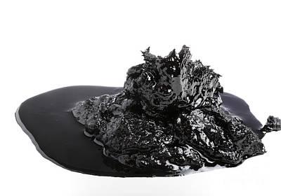 Bitumen Poster by Victor De Schwanberg