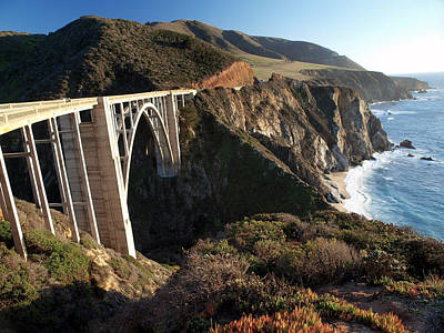 Bixby Bridge Afternoon Poster by Joe Schofield