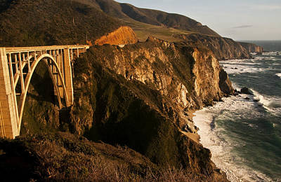 Poster featuring the photograph Bixby Bridge by Lee Kirchhevel