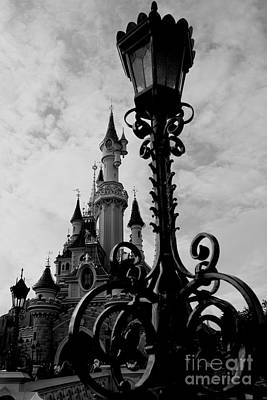 Black And White Fairy Tale Poster