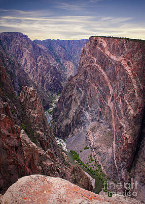 Black Canyon Painted Wall Poster