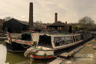 Black Country Wharf  Poster by Rob Hawkins