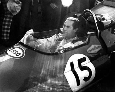 Black Jack Brabham Poster