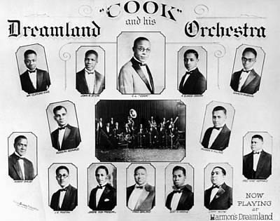 Black Jazz Band, 1920s Poster by Granger