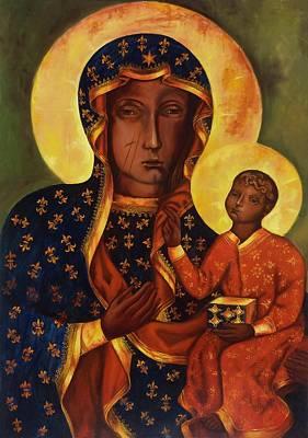 The Black Madonna Of Czestochowa Poster