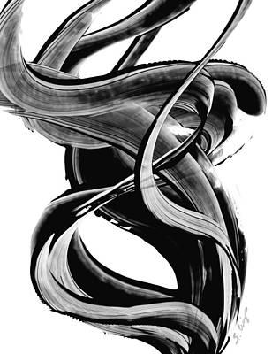 Black Magic 314 By Sharon Cummings Poster by Sharon Cummings