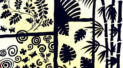 Black Or White - Wall Art Poster by Debajyoti BasuRay