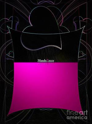 Black Pink Luv Poster