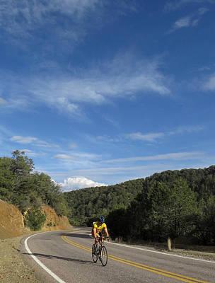 Black Range Biker Poster by Feva  Fotos