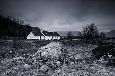 Black Rock Cottage - Glencoe Poster