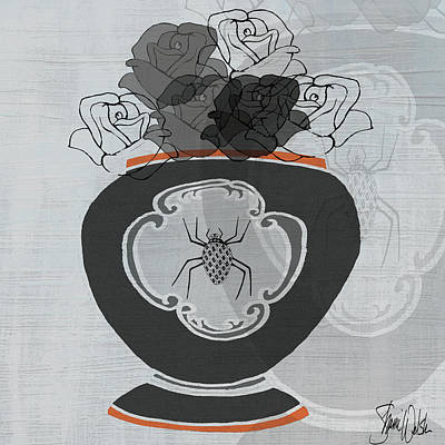 Black Roses II Poster by Shanni Welsh