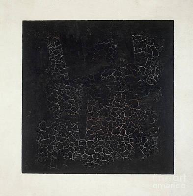 Black Square Poster by Kazimir Malevich