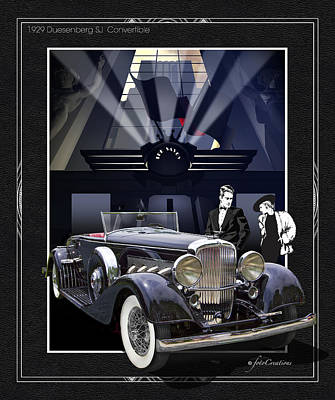 Black Tie Affair Poster by Roger Beltz