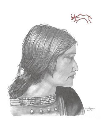 Blackfeet Woman Poster