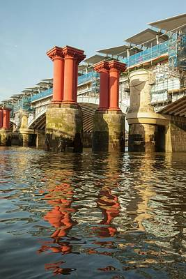 Blackfriars Bridge Poster by Ashley Cooper