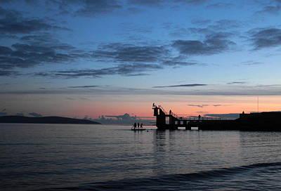 Blackrock After Sunset Poster